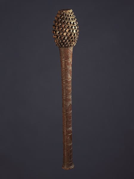 Fijian wooden war club