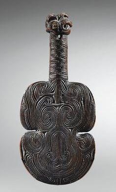 Maori hand club