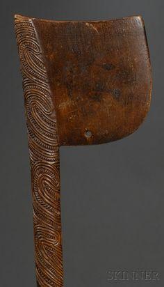 Maori war club