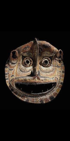 Sepik Gabel mask