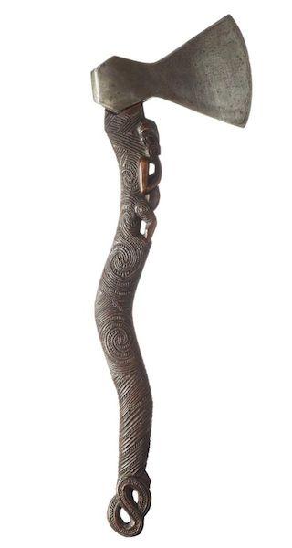 maori axe