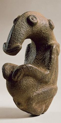 Highlands stone figure