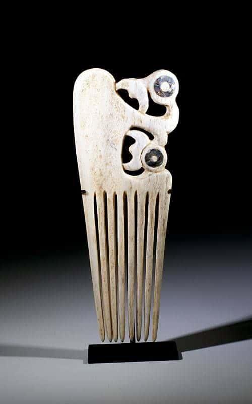 Maori tribal hair comb 2