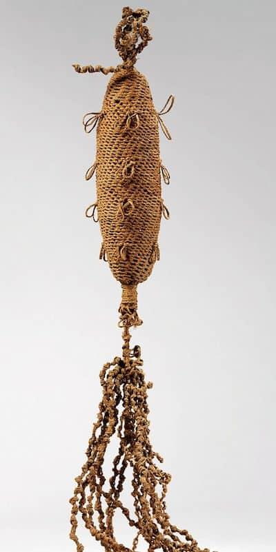 Marquesan fibre idol