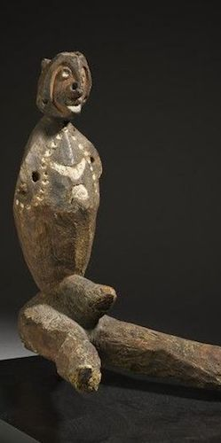 New Guinea imunu sculpture