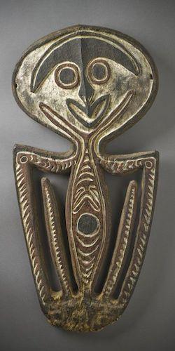 Papuan Gulf skull rack