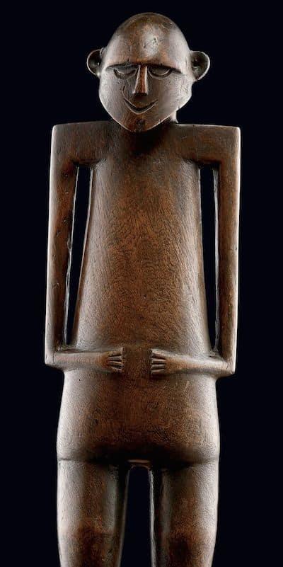 Polynesian sculptures