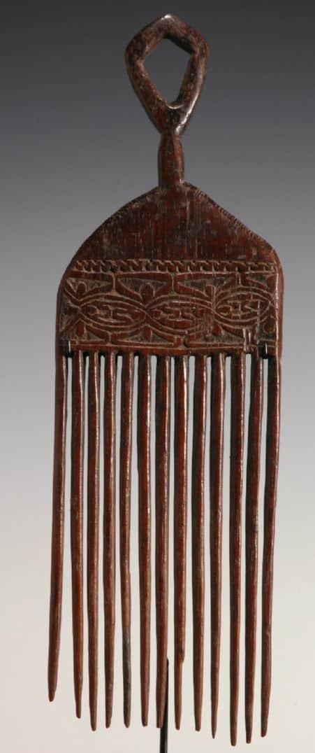Sepik tribal comb