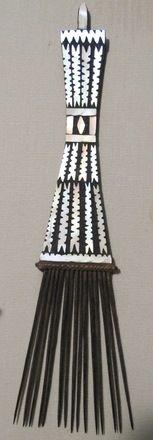Solomon island tribal comb