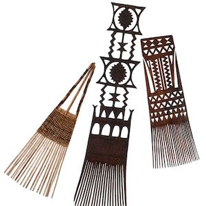 Tribal Combs of the pacific islands