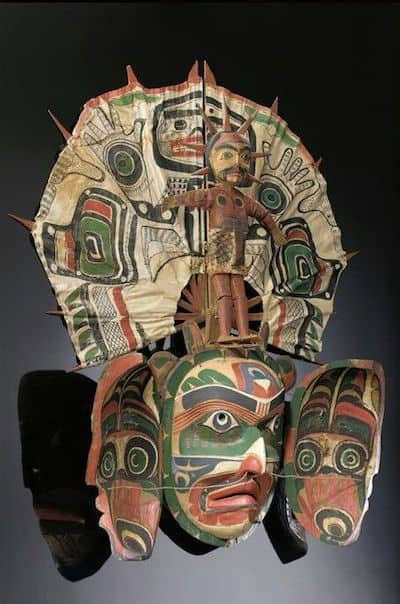 Kwakiuti transformation mask