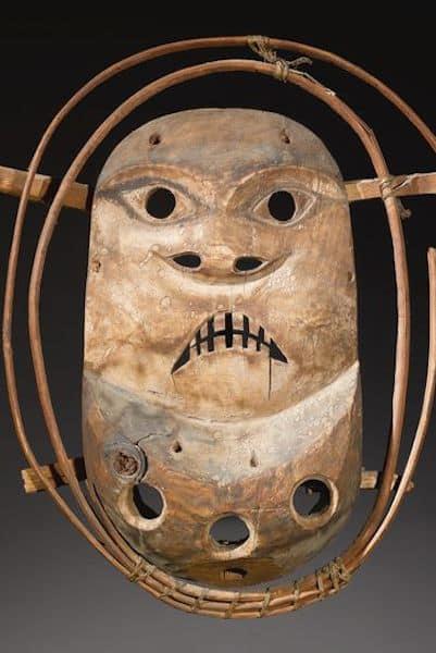 Yu'pik mask