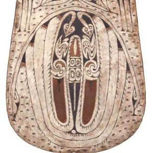 Old Carved Shield
