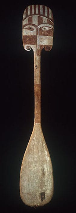 Rapa Paddle from easter island