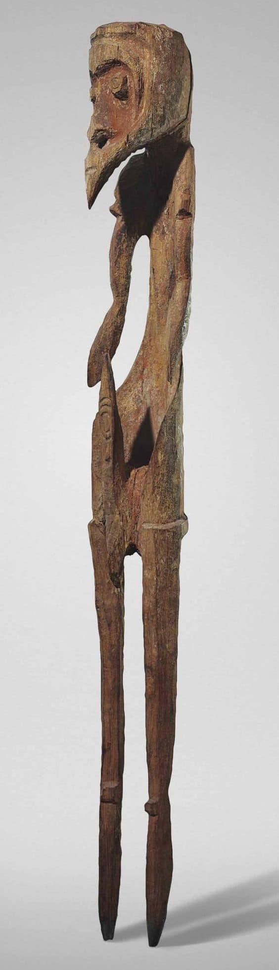 Korowari cave figure