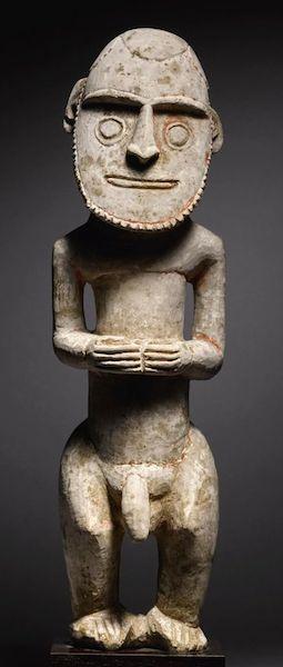 New ireland sculpture