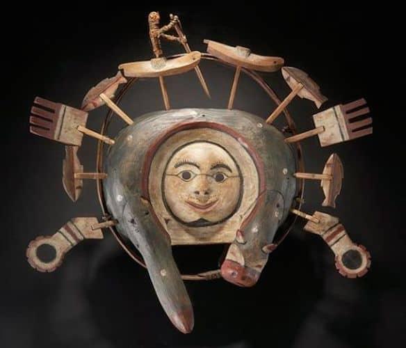 Yup'ik mask 2