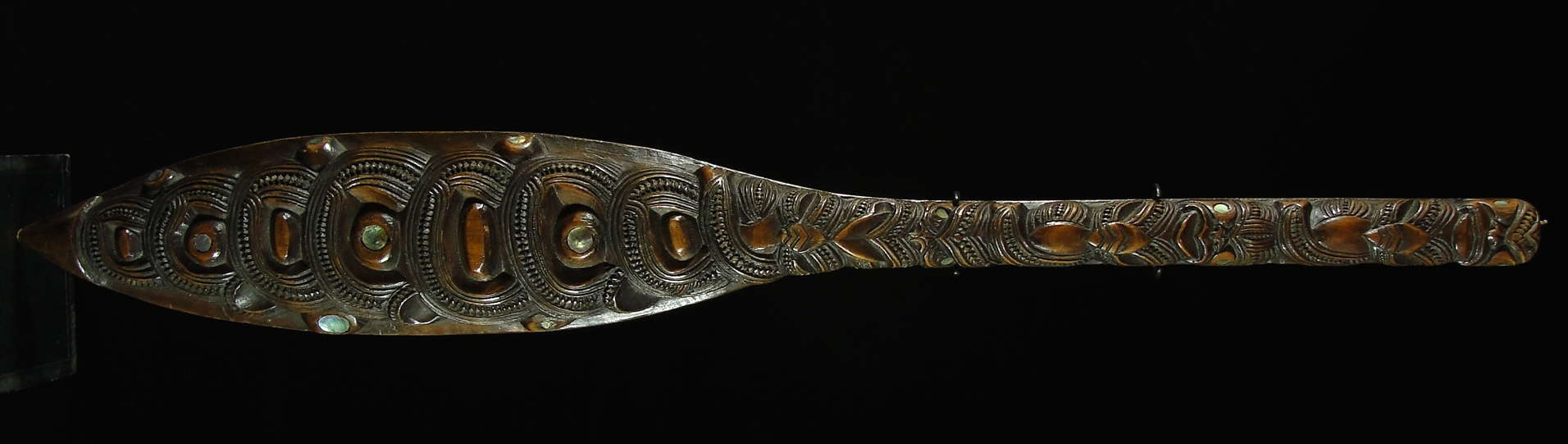 Later made for sale maori Dance Paddle