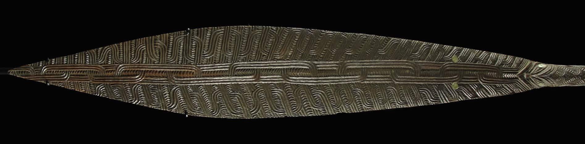 Maori paddle blade